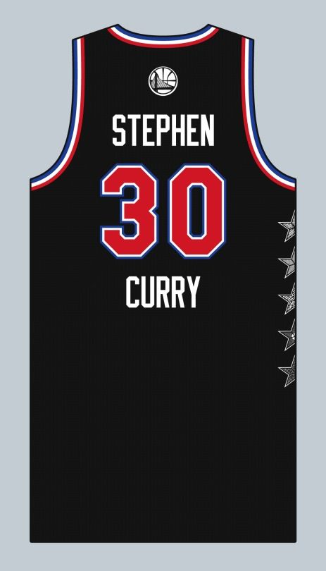 Steph Curry All Star Jersey