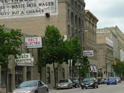 #Winnipeg's Hottest Film Location - The Exchange