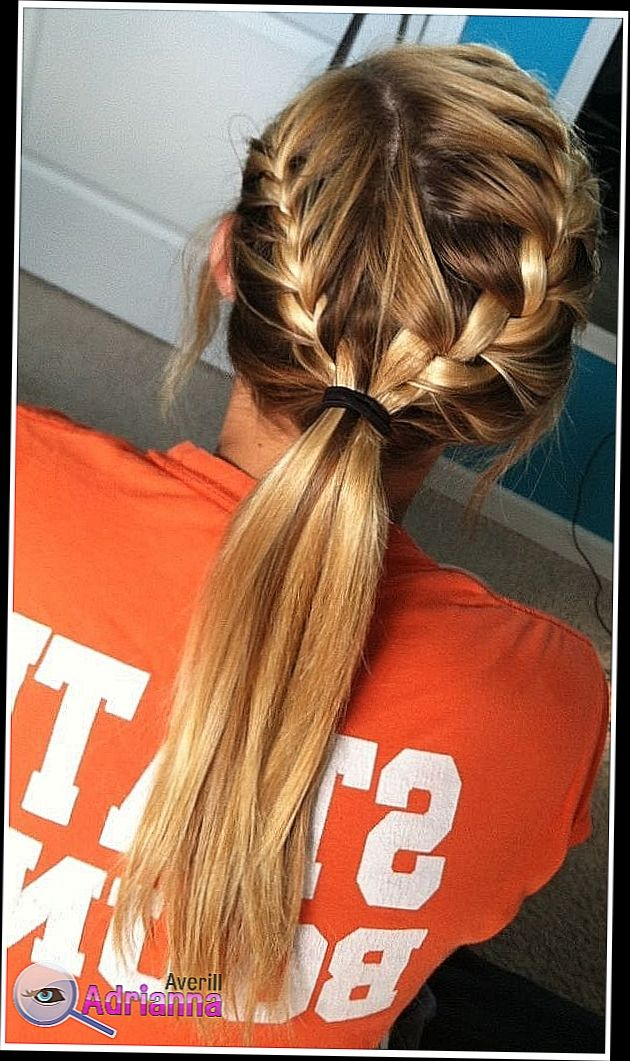 Easy Ponytail Hairstyles For School Early School Mornings Are