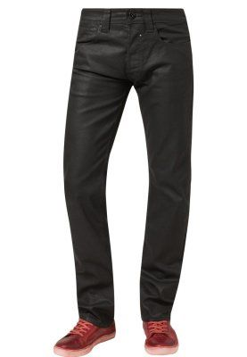 REG WAX - Jeans Straight Leg - sort