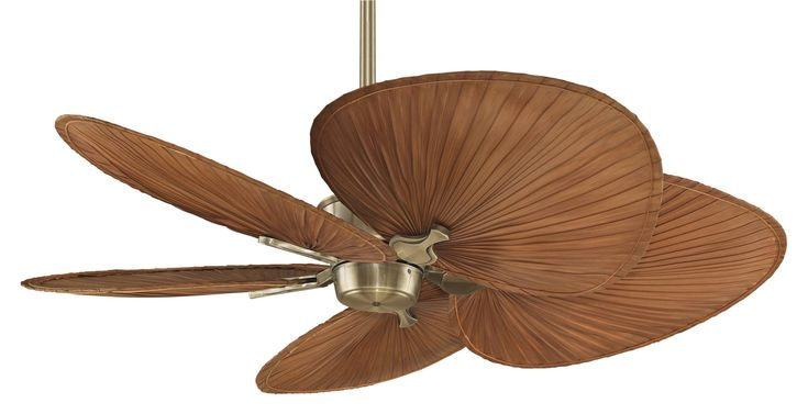 100 best tropical ceiling fans images on pinterest tropical islander antique brass ceiling fan with redbrown oval palm blades mozeypictures Gallery