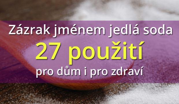 Zázrak jménem jedlá soda – 27 způsobů použití pro dům i pro zdraví