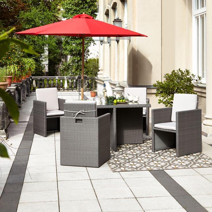 1000+ ideas about Polyrattan Sitzgruppe on Pinterest | Gartenset ...