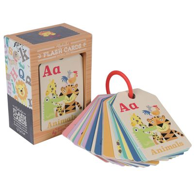 Home :: PLAY :: Imaginative Play :: Tiger Tribe Animal ABC Flash Cards