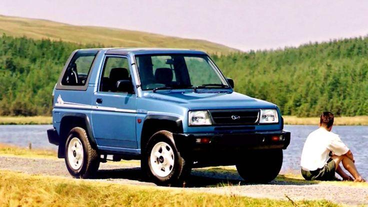 The Daihatsu Sportrak is a mini SUV https://www.reconditionengines.co.uk/rec-make.asp?part=reconditioned-daihatsu-engine