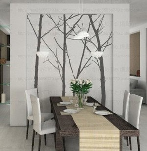 Best MIRRORS WALL DECALS AND ART OH MY Images On Pinterest - Wall stickers for dining room