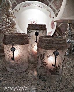 Artístico VaVa: upcycled la salmuera de oliva y tarros