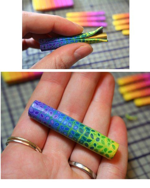 Picture tute for extruder canes including loading sequence. #Polymer #Clay #Tutorials
