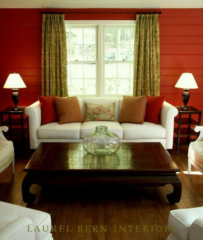 my north facing room paint color is depressing me - Moroccan Red Paint