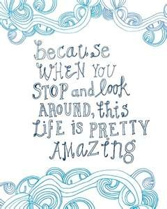 This is so true...don't miss the tiny little miracles that appear everywhere...when you really look....!