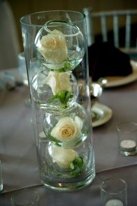 Easy wedding centerpieces!
