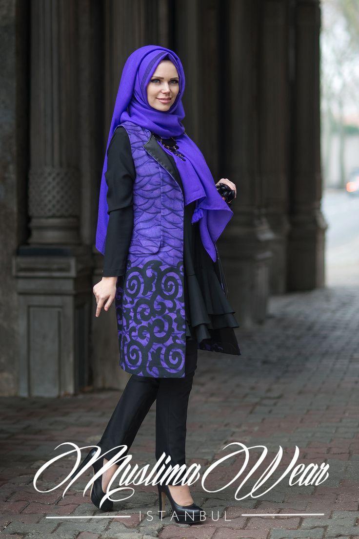 Muslima Wear-2016 VIOLA Waistcoat
