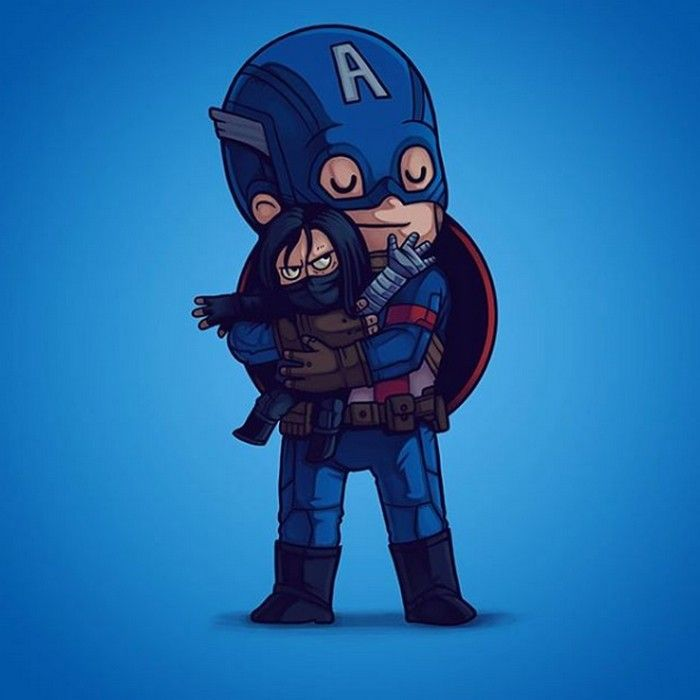 Villains Need Love : Captain America et le Soldat de l'Hiver