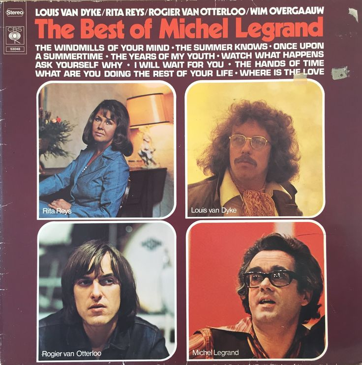 LP 33 - The best of Michel Legrand