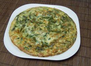 La clasica Tortilla de Acelgas a la chilena