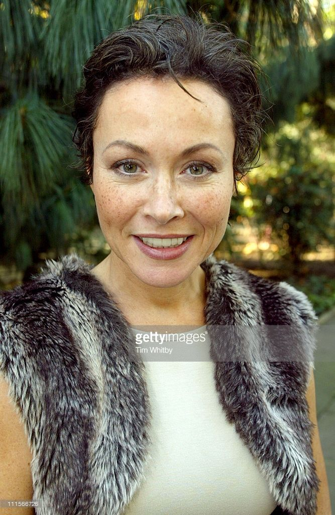 Amanda Mealing during Aga Launches Brand New Chocolate Colored Oven - Photocall at Soho Square in London, Great Britain.