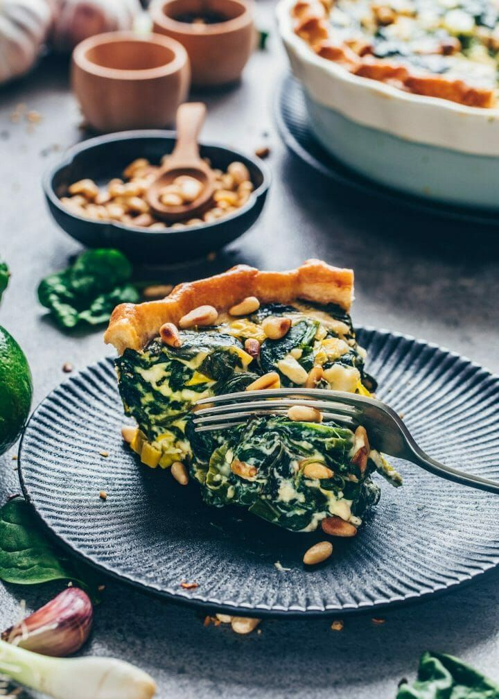 Vegan Spinach Quiche Recipe Easy Bianca Zapatka Recipes Recipe Quiche Recipes Spinach Quiche Quiche Recipes Easy