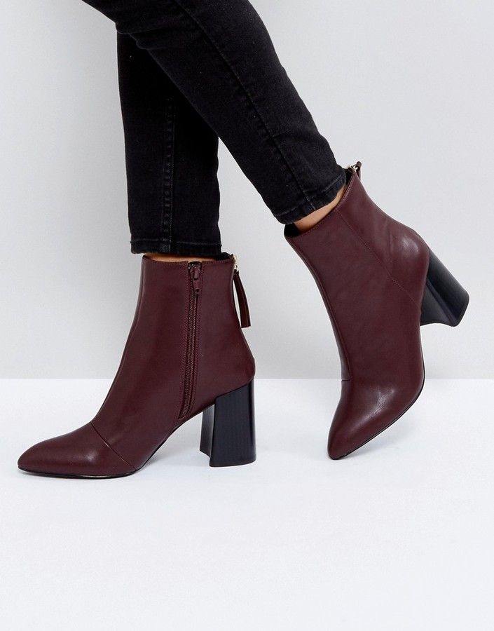 Miss KG Secret Pointed Heeled Ankle Boots