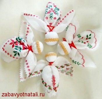 Angels based folk dolls DIY
