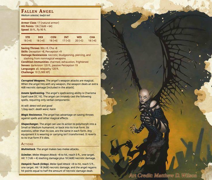 Angel fallen into dungeon 10
