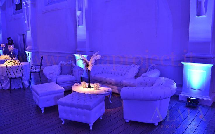 ALMA Project @ Loft è - Chesterfield sofa sofas uplights rasha lounge 12