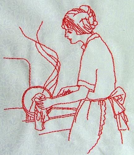 Best images about embroidery redwork on pinterest