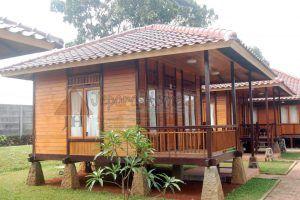 pengrajin jual rumah kayu minimalis modern jepara   rumah