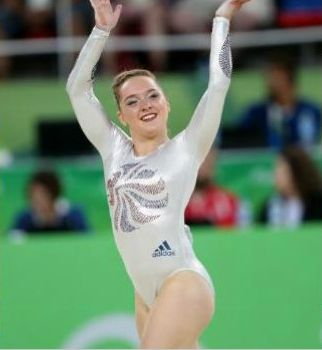 A fabulous #bronze for Amy Tinkler, still awaiting her GCSE results whilst performing in #rio2016 #floor #WAG