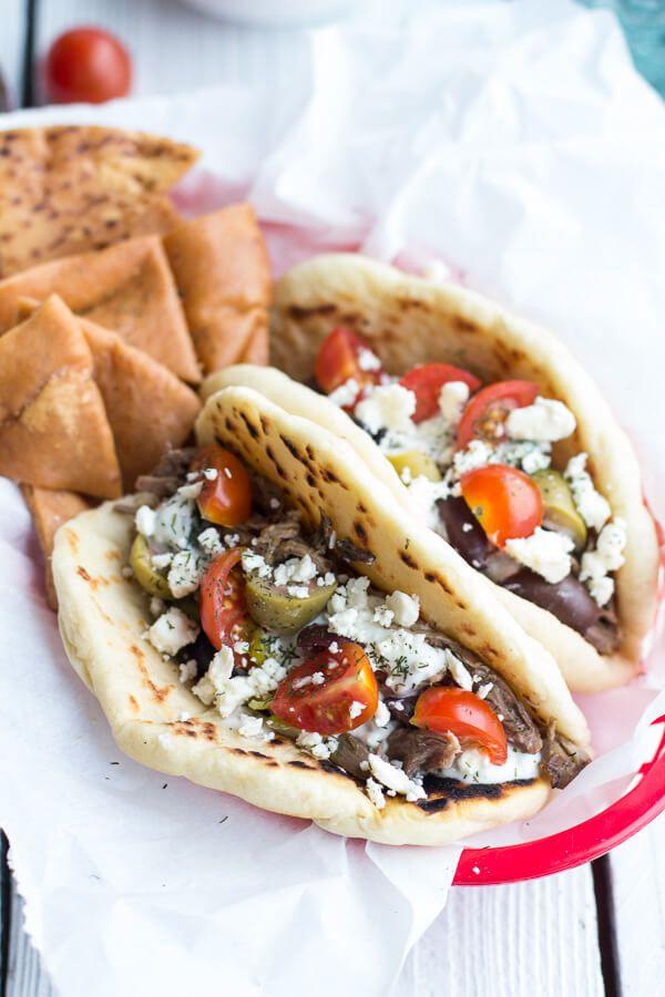Easy Traditional Greek Gyros   halfbakedharvest.com