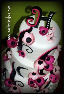 Pastel fantasía #Cakes #Pasteles y #Cupcakes para #Bodas y #15Años #Fondant #wedding #quinceanera | DaVinci http://bit.ly/1v3zvMi