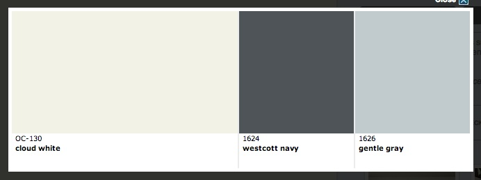 Cloud White OC-130 Benjamin Moore | Color Schemes and Painting Tips ...