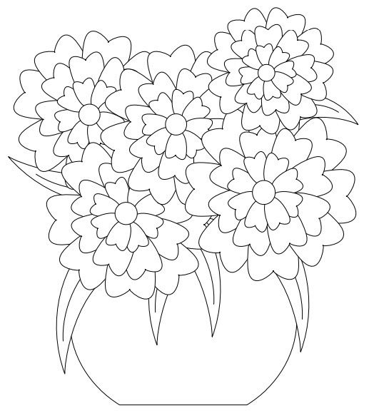 36 best Flower Coloring Sheets images on Pinterest