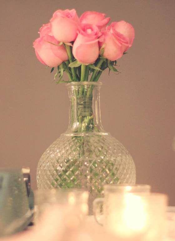 Baby's breath, Dinner, Gipsofila, Jantar de Noivado, Noivado, Pink and Green, Romantic, romantico, Verde e Rosa, decor, decoration, decoração, cake table, mesa de bolo, rosas, roses.