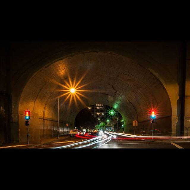 Under the bridge comes alive at night #exploretocreate