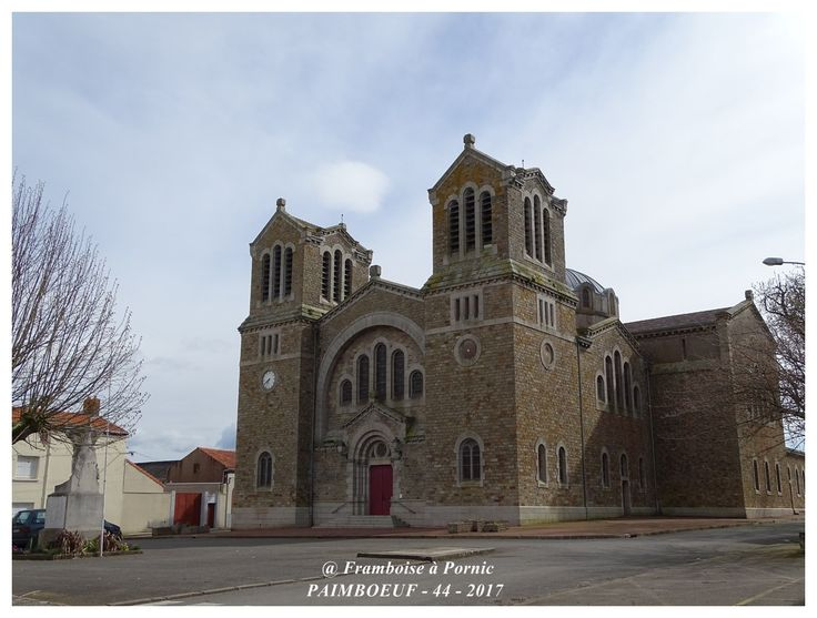 Eglise Saint-Louis de Paimboeuf - 2017 - - Framboise à Pornic