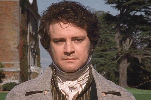 Mr. Darcy (Colin Firth) from Pride and Prejudice (BBC series 1995)