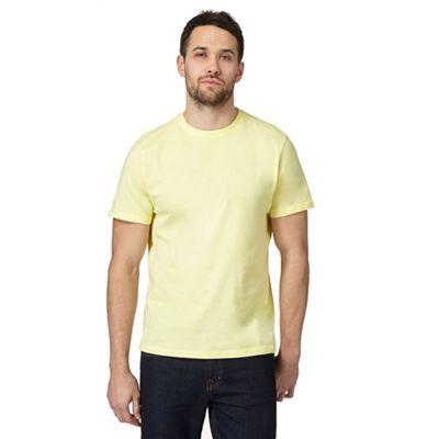 Maine New England Yellow crew neck t-shirt | Debenhams