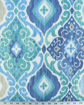 Fresca Cobalt - Indoor / Outdoor | Online Discount Drapery Fabrics and Upholstery Fabric Superstore!