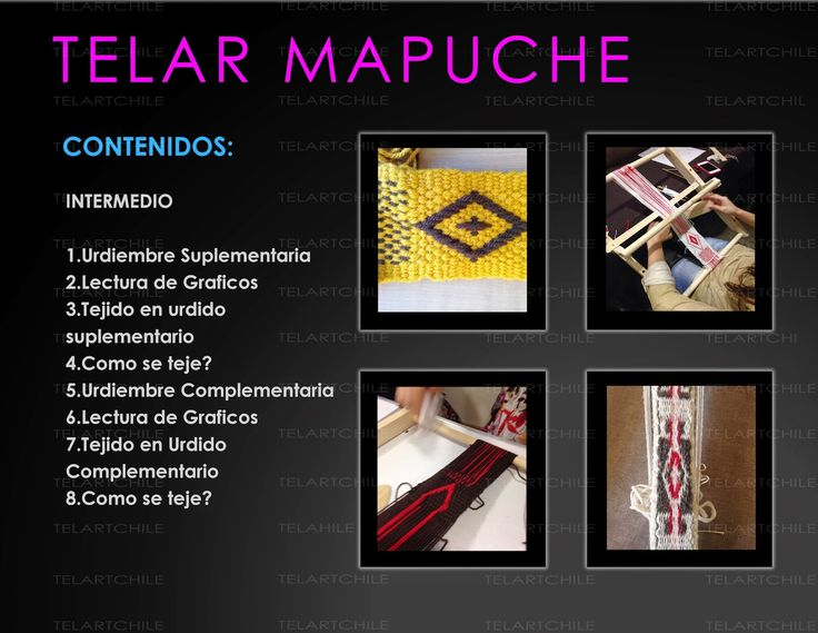 Blog de Clases de Telar y Venta de telares , lanas