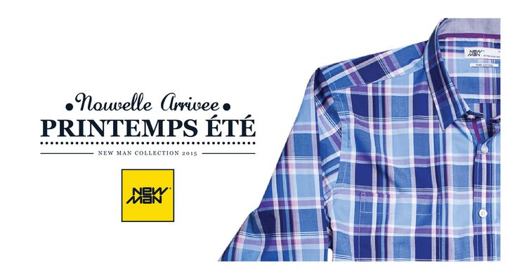 Colección New Man Chile S/S'15 #Color #Lines #Casual www.newmanchile.cl