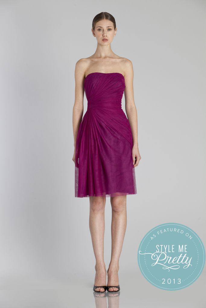 46 best Monique Luhillier Bridesmaids Gowns at b.Hughes Bridal ...