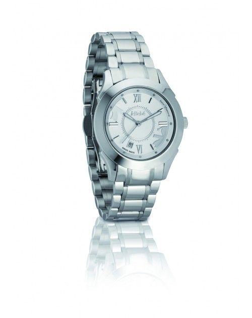 Orologio #LeBebe con cinturino e cassa in acciaio silver - #ororagioiellerie