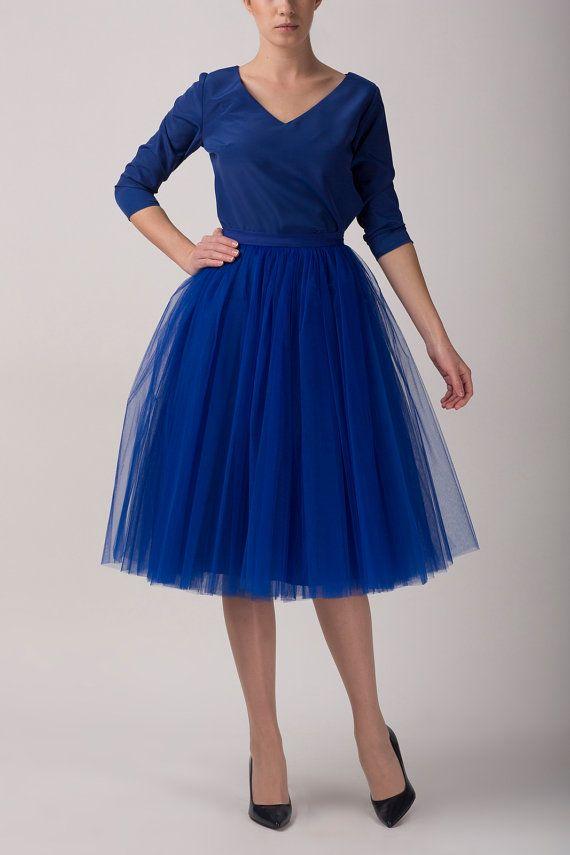 Tulle skirt long petticoat high quality tutu skirts by Fanfaronada, €125.00