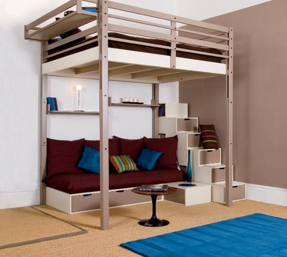 Furniture Design Nice Of Short Bunk Bed With White Wall And Brown Floor
