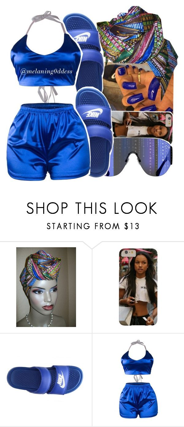 """""""Wild Thoughts x Dj Khaled ft. Rihanna & Bryson Tiller"""" by melaning0ddess ❤ liked on Polyvore featuring NIKE"""