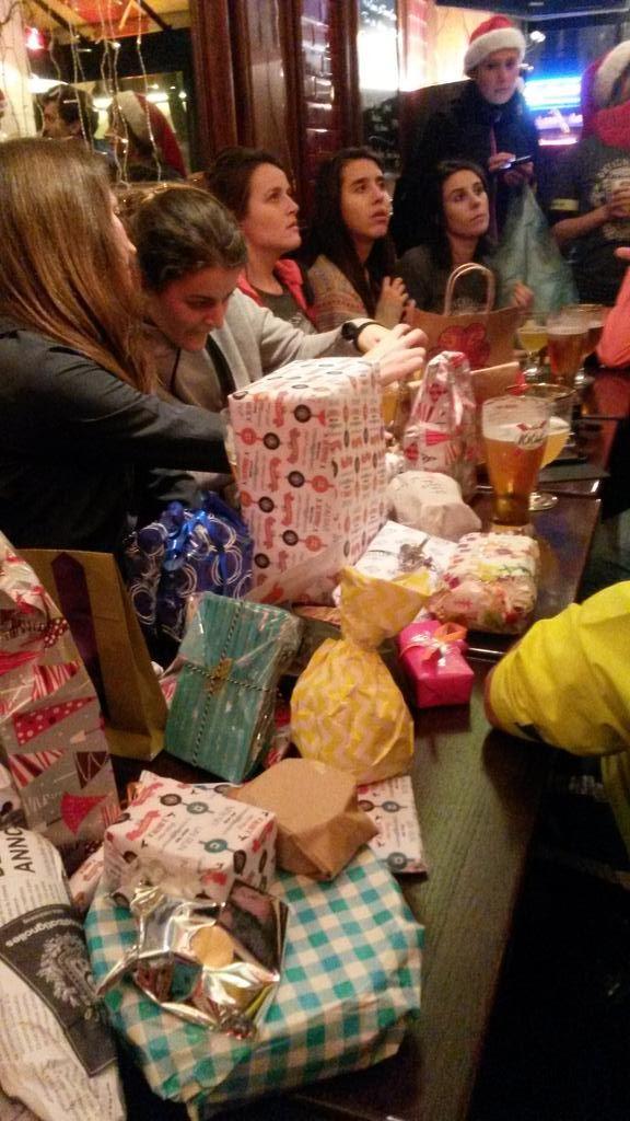 La famille #boostbatignolles se reunie pour feter Noel
