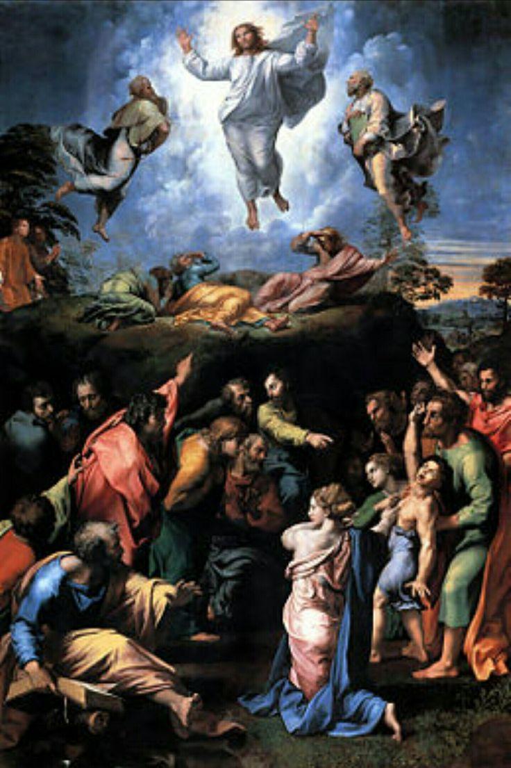 La transfiguration, Raphaël  1516-1520