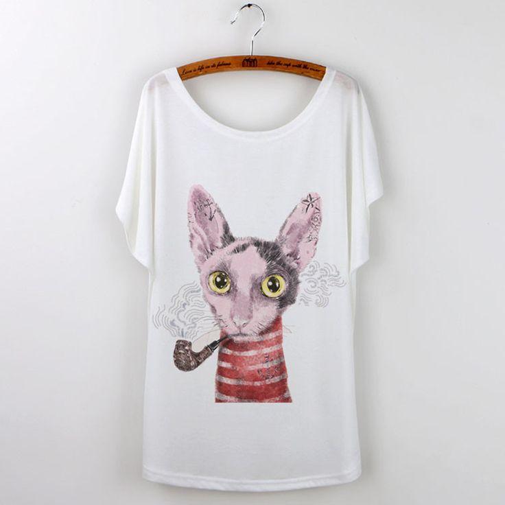 T-Shirts Women Tops Clothing Brand Summer Style Lips Graphic Tee Shirt Batwing Sleeve Harajuku Bottoming Shirt