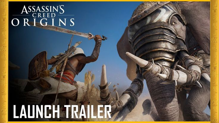 Assassin's Creed Origins: Launch Trailer | Legend of the Assassin | Ubis...