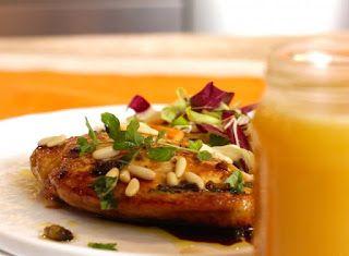 Denny Chef Blog: Pollo al miele di coriandolo e aceto balsamico